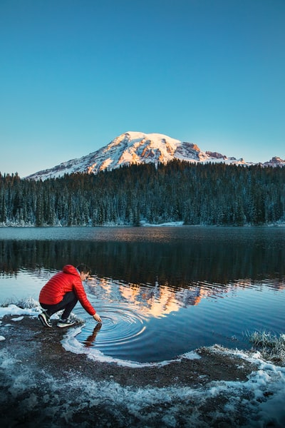 The Big Trip   Reflection Lakes in Mount Rainier National Park - Explore more at explorehuper.com/the-big-trip