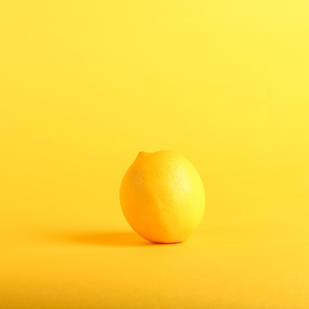 photography of lemon
