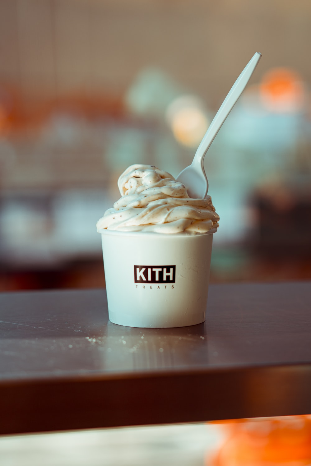 soft ice cream in Kith cup