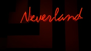 red Neverland neon sign