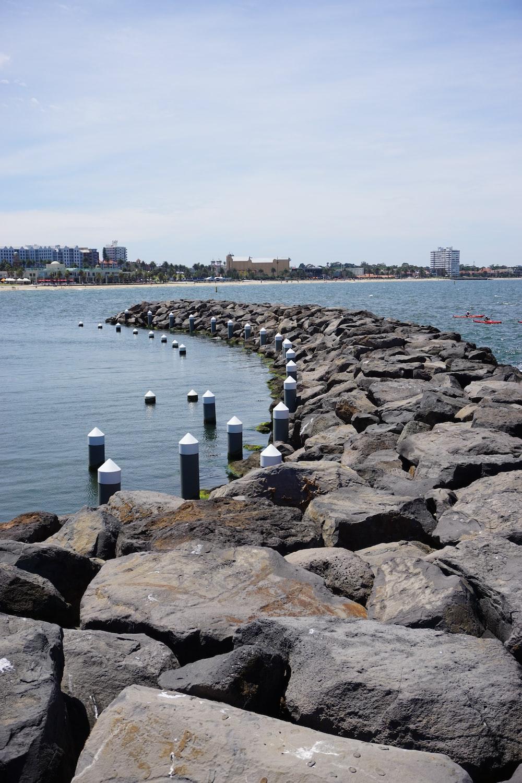 brown rocks during daytime