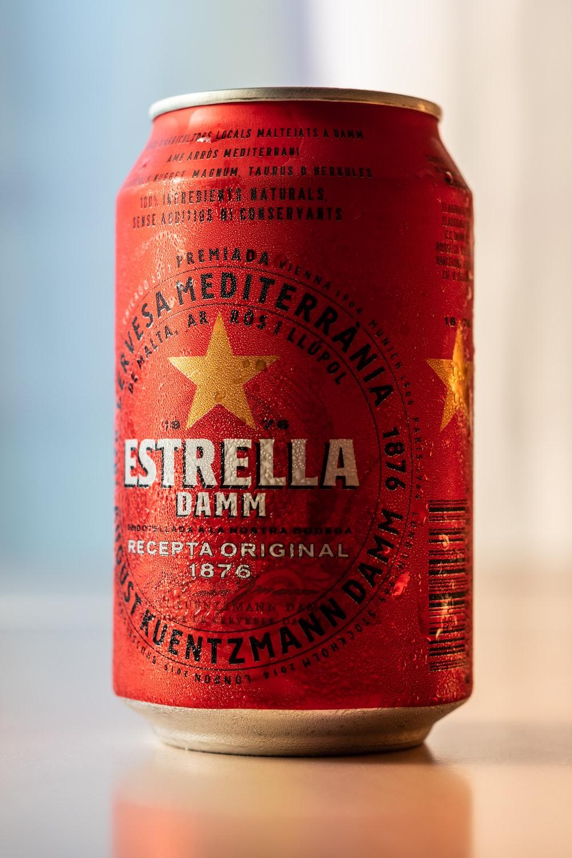 Estrella damm can