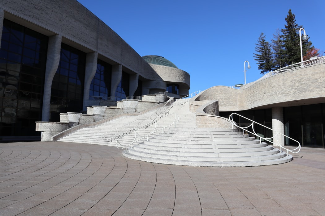 The Museum of History, one of the major attractions in Gatineau