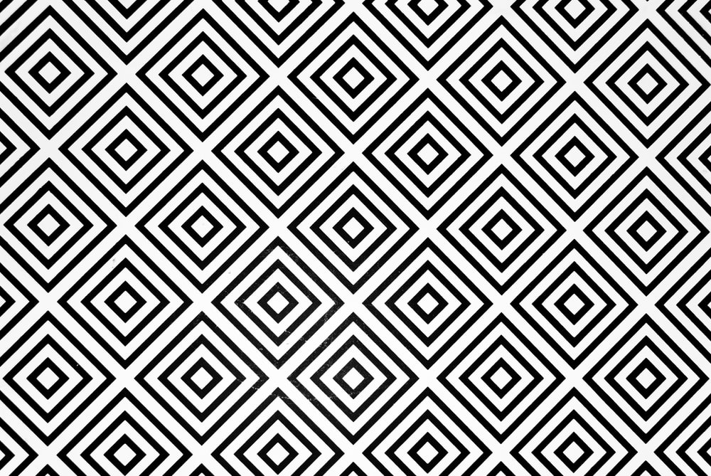 black and white checked digital wallpaper