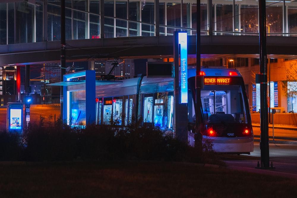 tram in city