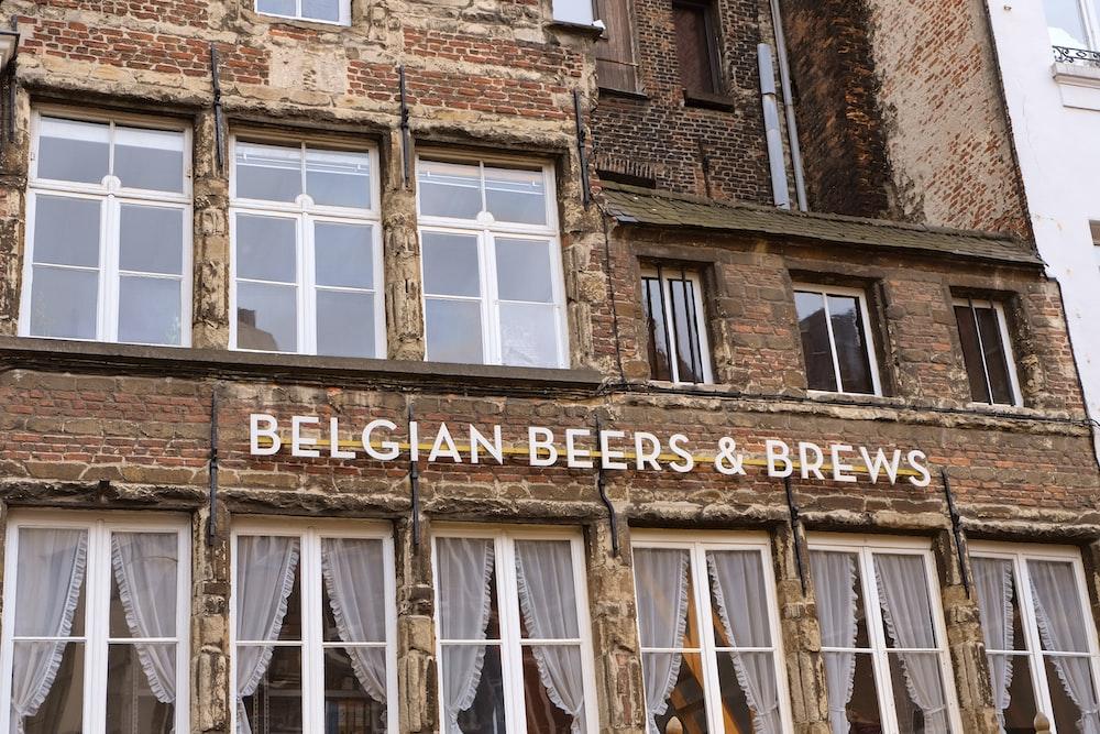 Belgian Beers & Brews building