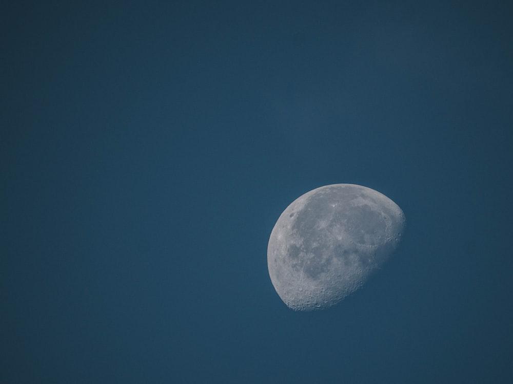 moon on the sky