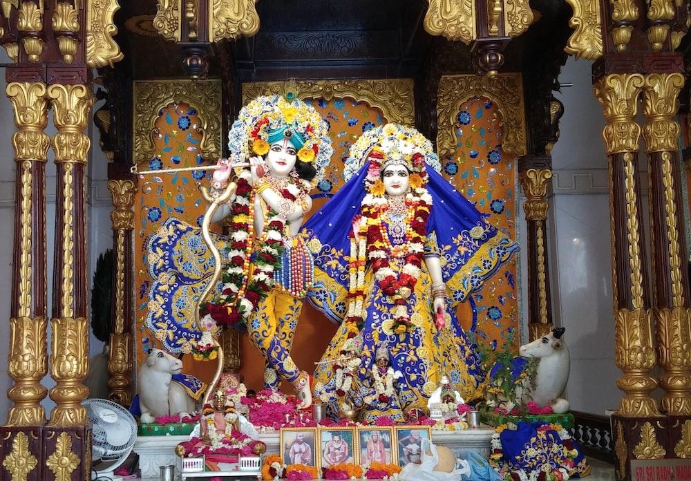 Hindu deity statues