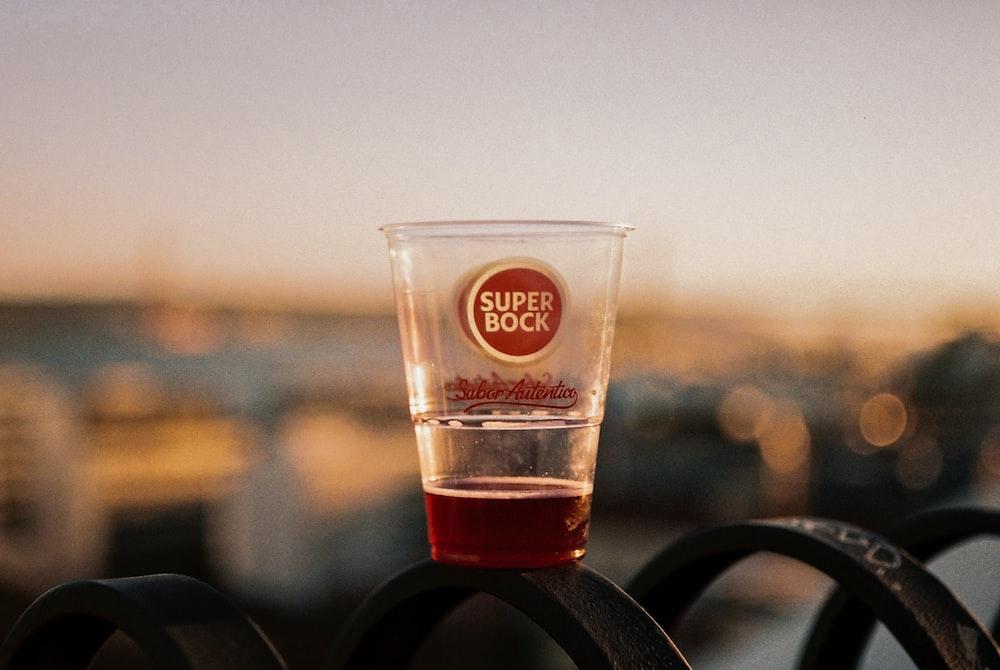 Super Bock plastic cup