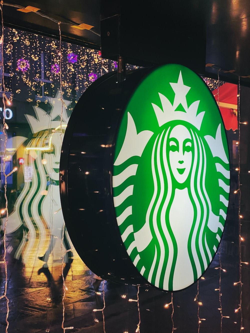 Starbucks LED store signage