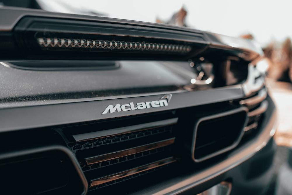 black Maclaren rear bumper