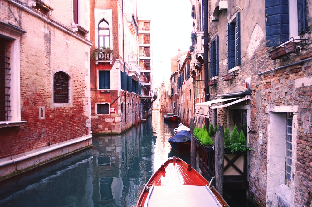 Venice Italy canal during daytime