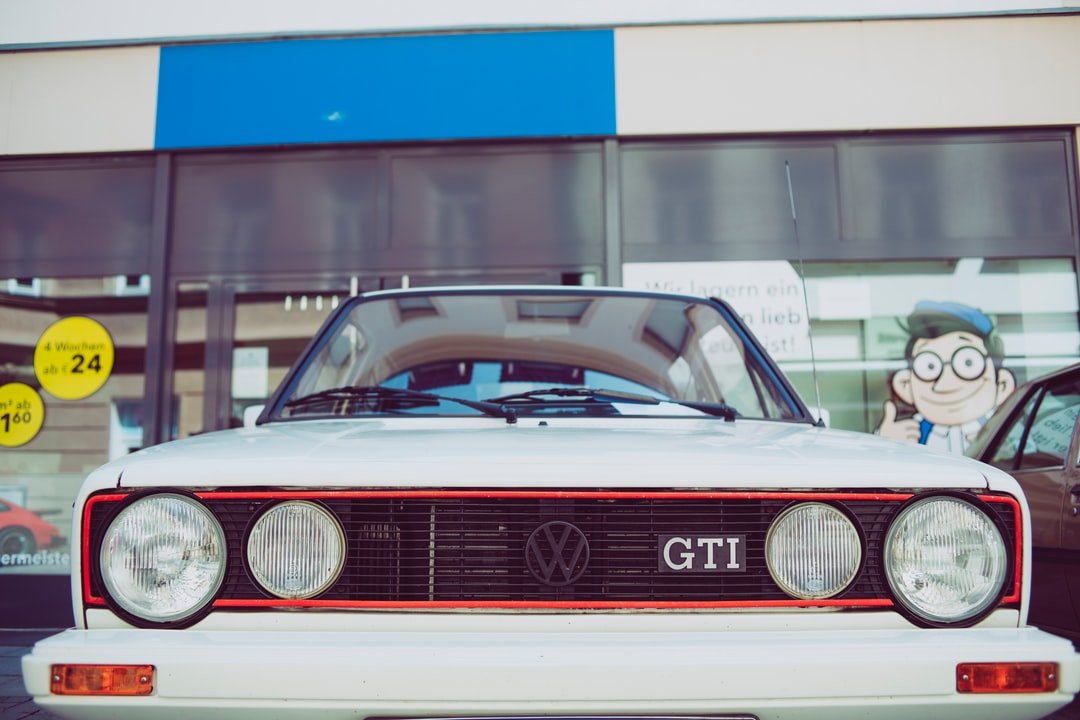 Vintage oldtimer – legendary Golf I GTI. Made with Canon 5d Mark III and analog vintage lens, Leica Summicron-R 2.0 35mm (Year: 1978)