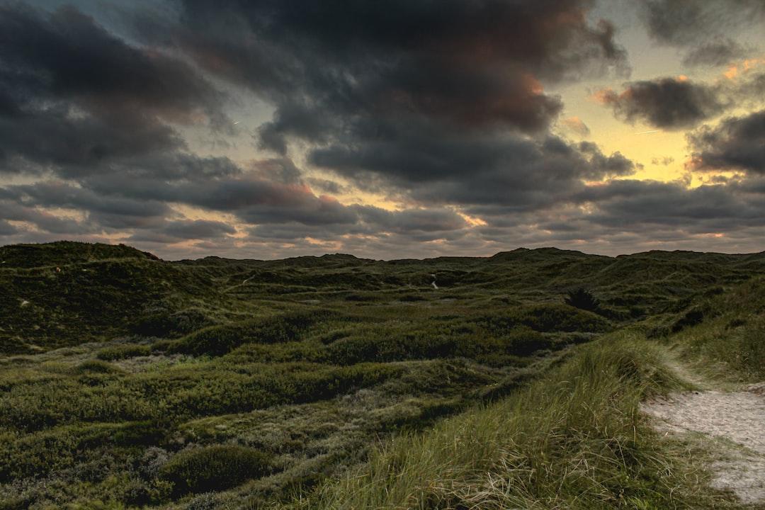 Sunset in Dänemark