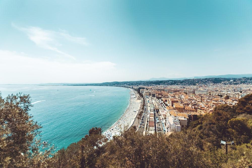 city near beach