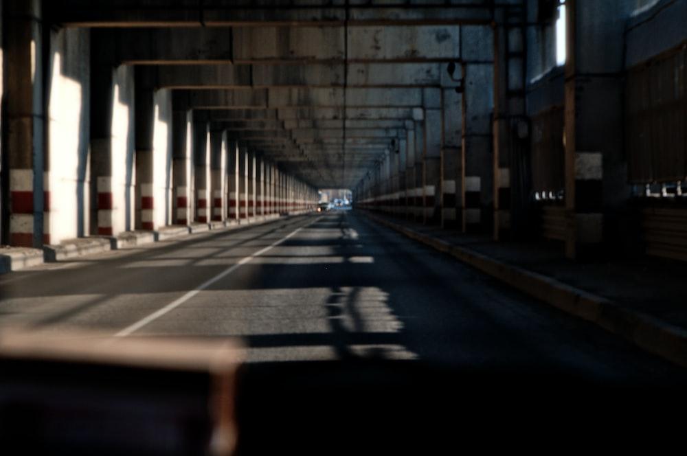 tunnel under bridge