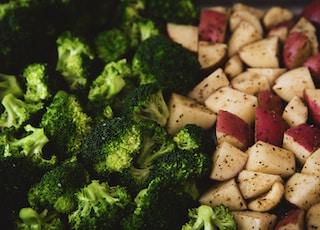 apple and broccoli salad