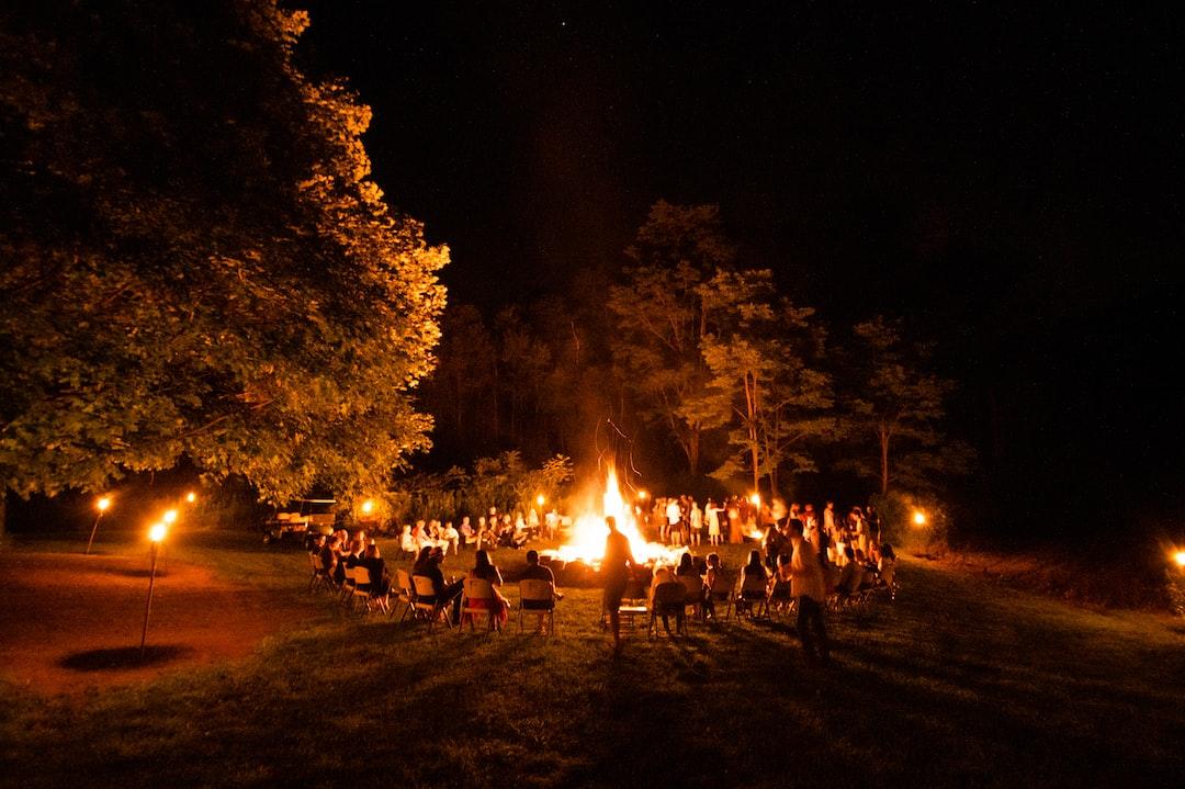 Big campfire.