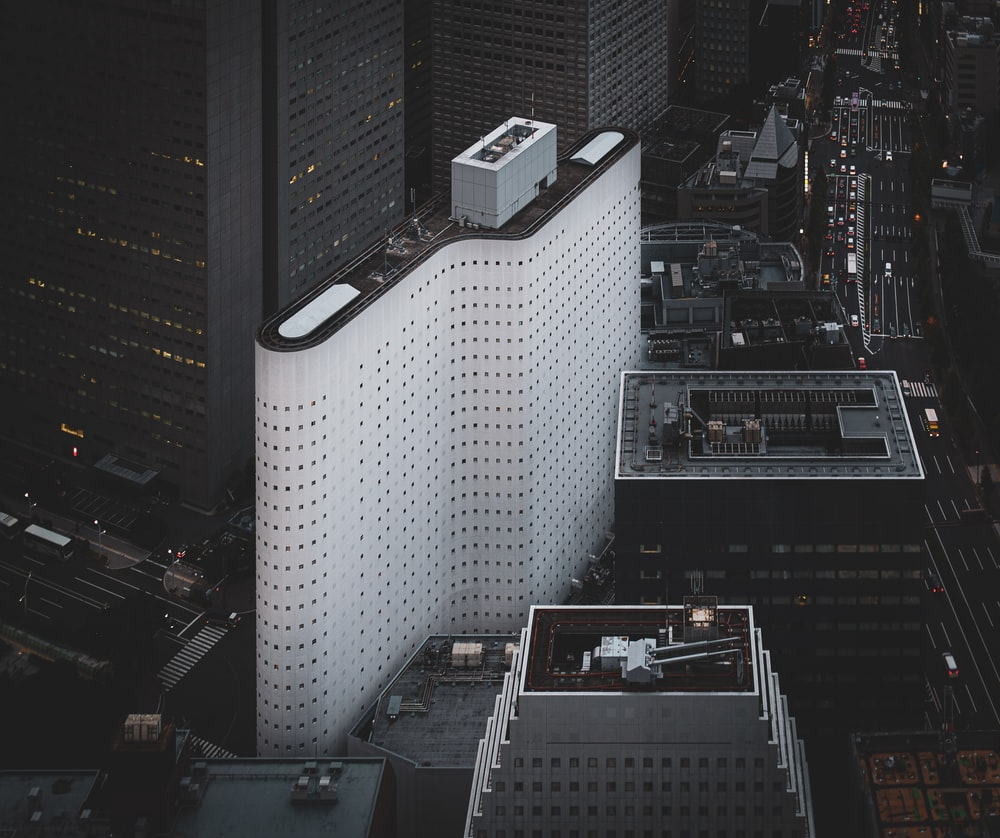 aerial photography of high-rise buildings during daytime