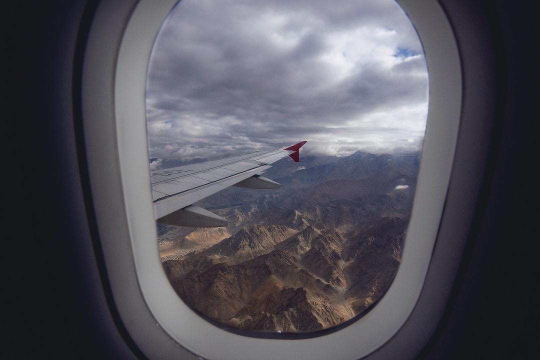 flight, plane, skyline, mountains, nature, peak, sand, panorama, vacation, holiday, explore,