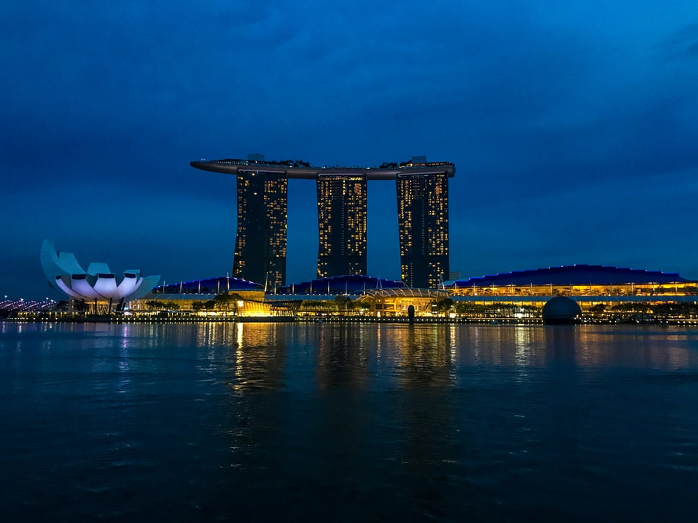architectural photography of Tanjong Pagar Centre