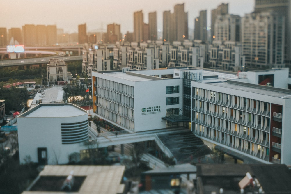 white concrete buildings during daytime