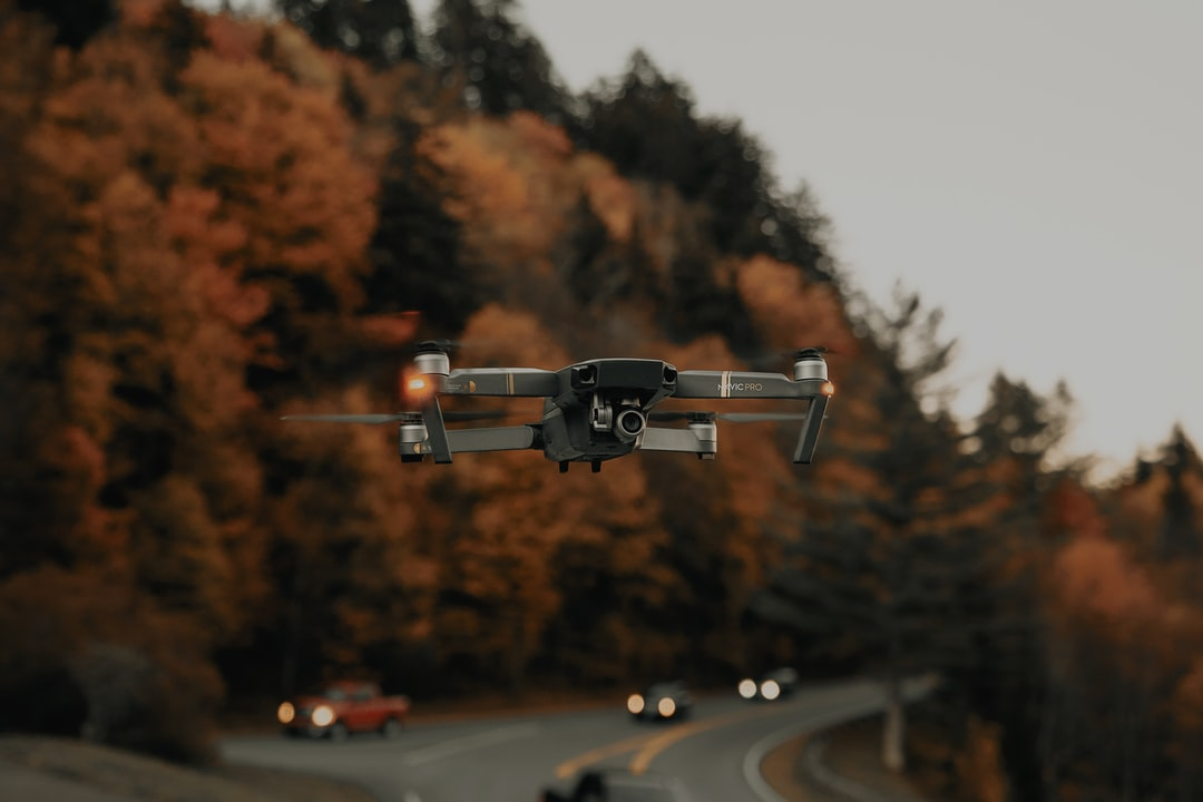 Hovering the Mavic Pro around some autumn trees (1/2) (IG: @clay.banks)