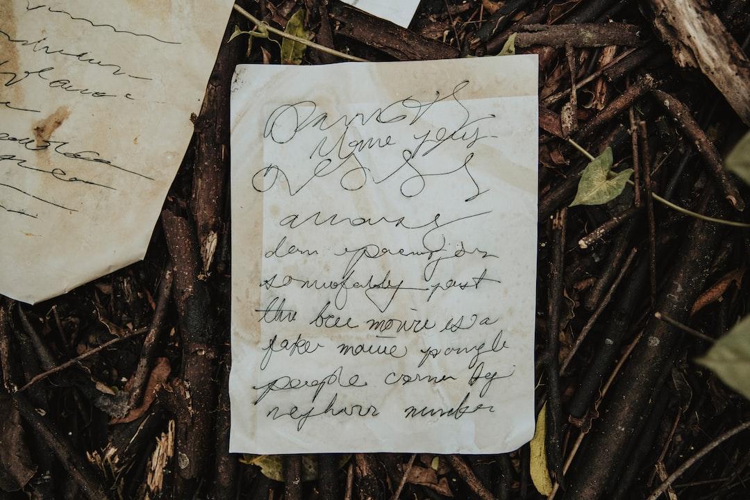 Papa's Handwriting