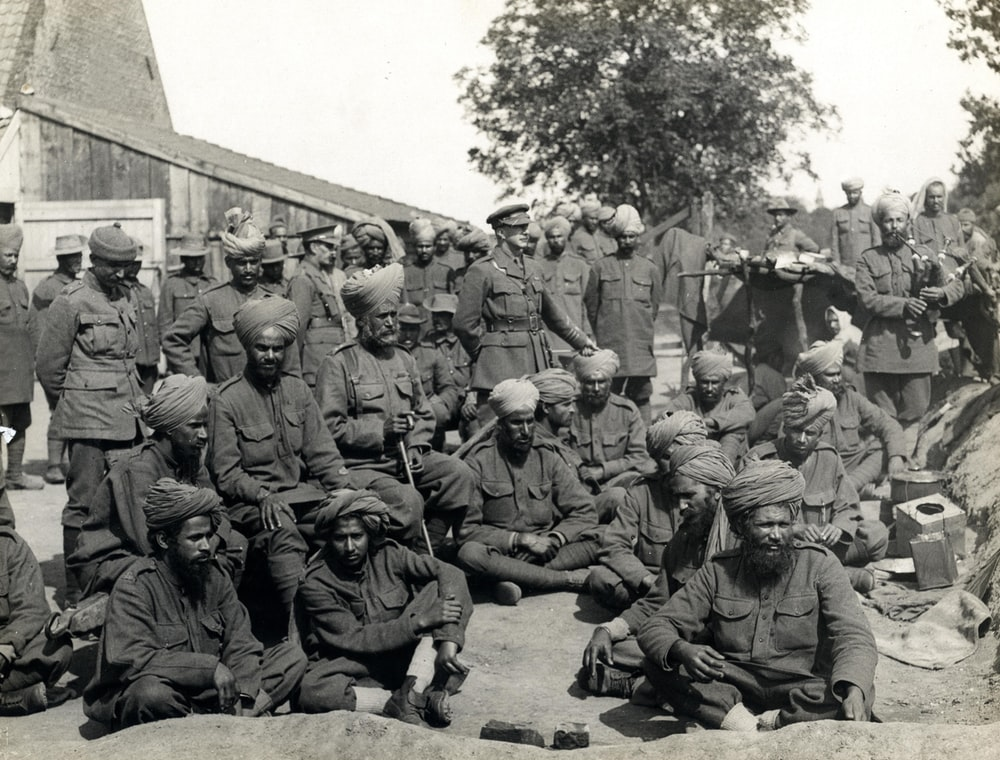 World War 1 wounded soliders