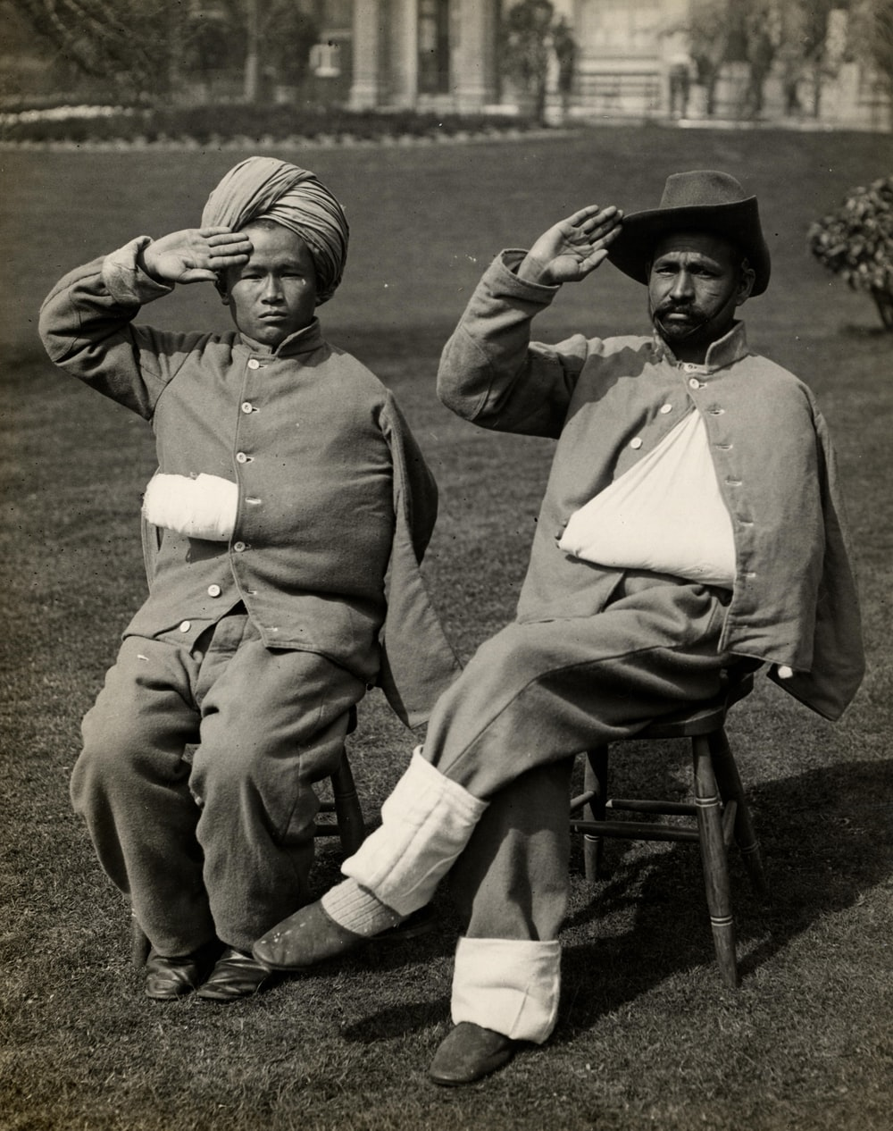 Wounded Word War 1 soldiers