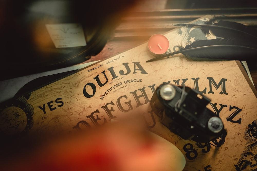 Quija board game