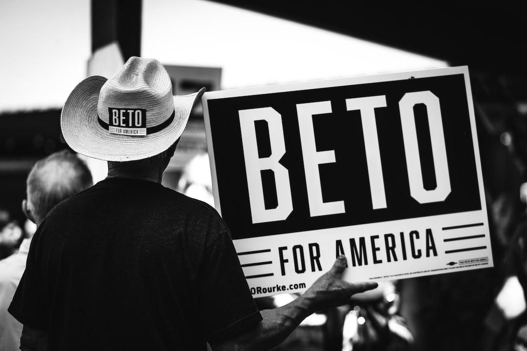 """Beto O'Rourke political campaign """"Beto For America"""""""