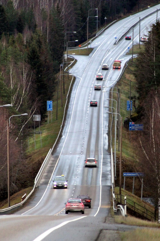 concrete asphalt road