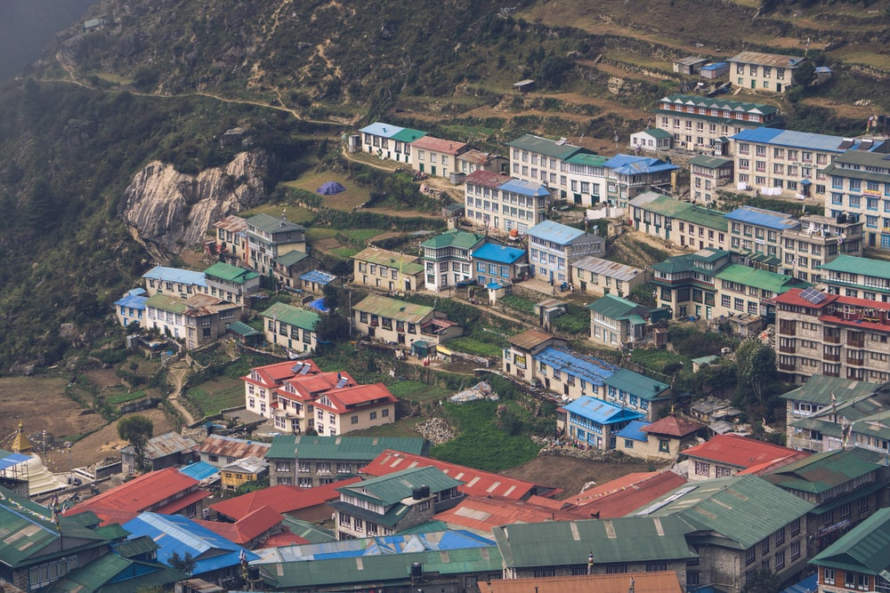 houses on hills