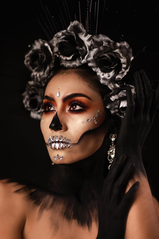 woman in black top facing sideways