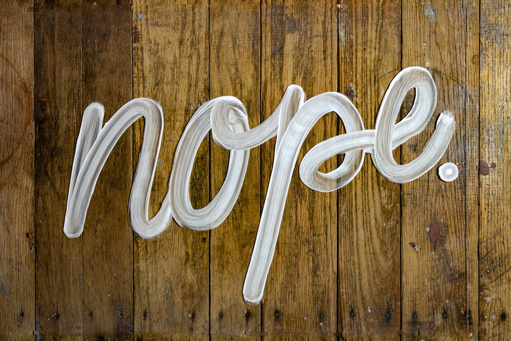nope graffiti