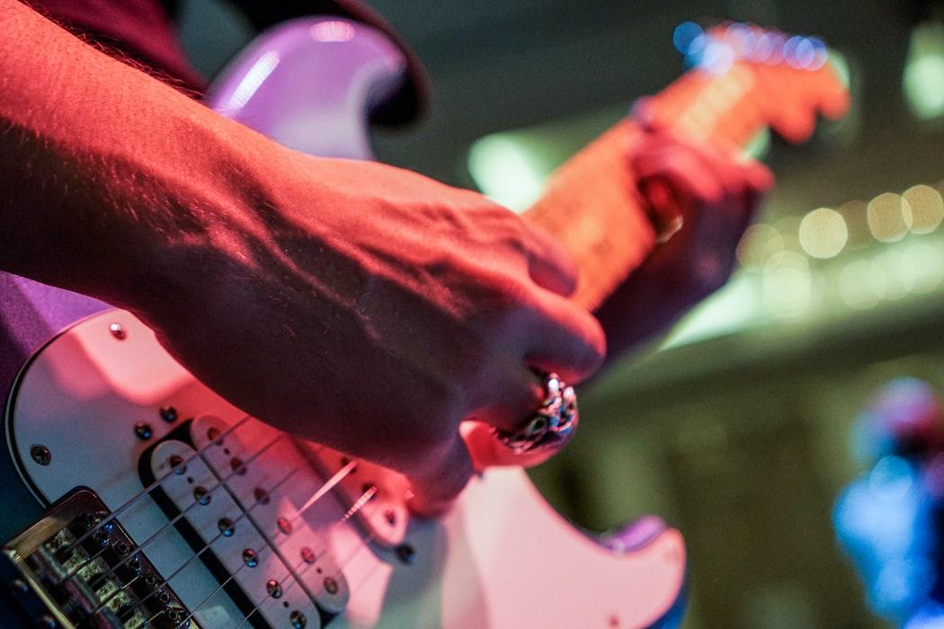 Electric guitarist.
