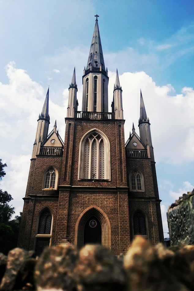 A church in Nagampadam