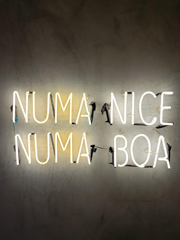 Numa Nice  Numa Boa