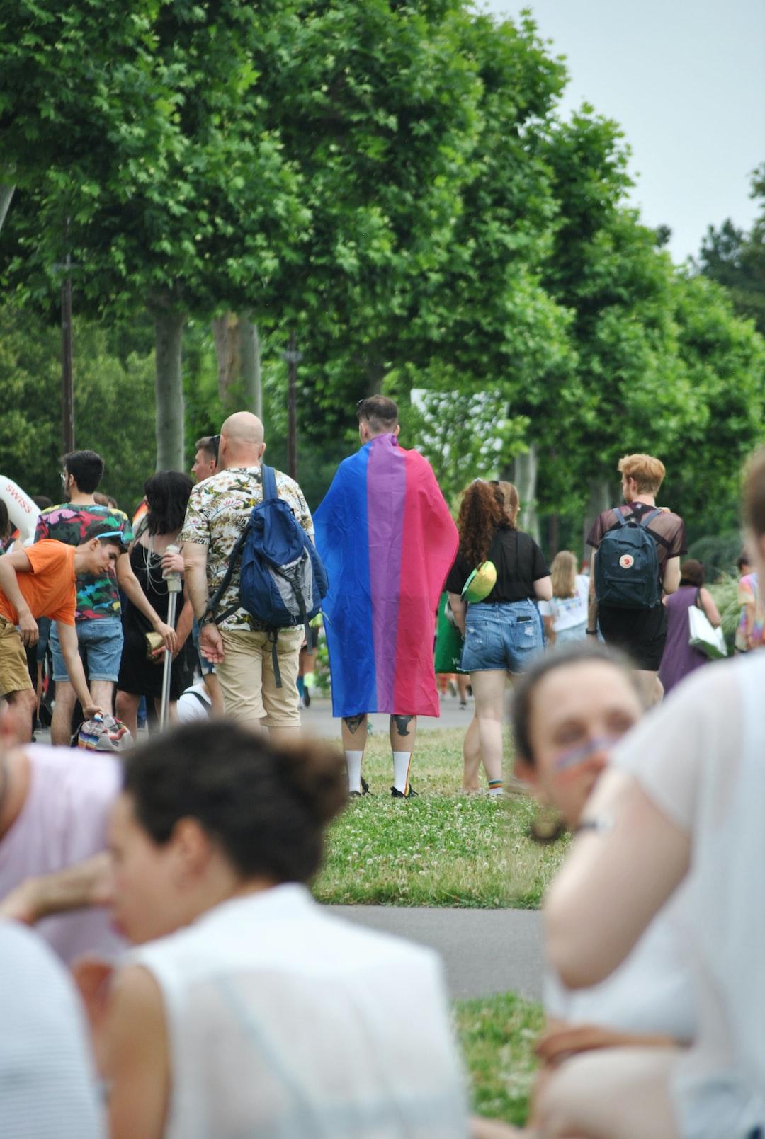 July 7th 2019, pride parade day in Geneva.