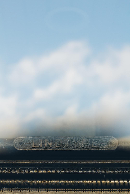 Lindtype signage