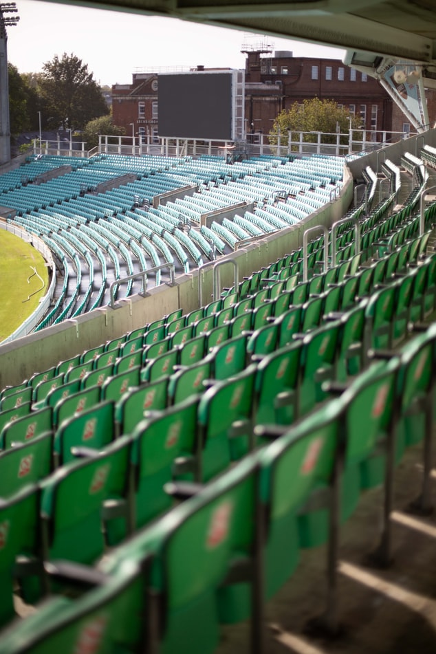 Cricket ground seating