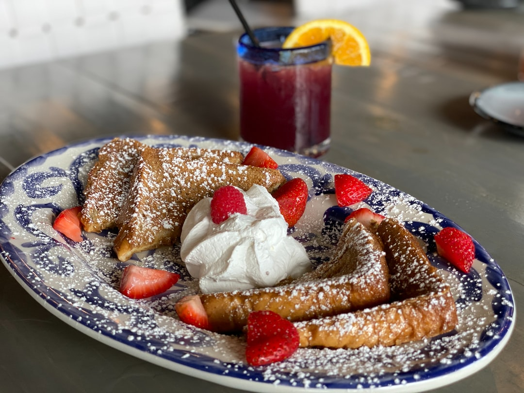 Brunching with Ambriza's fantastic French toast!