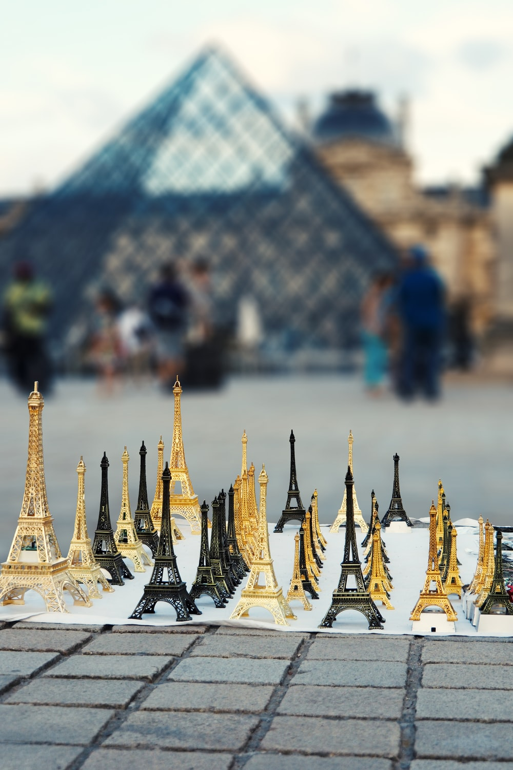 Eiffel Tower themed chess game