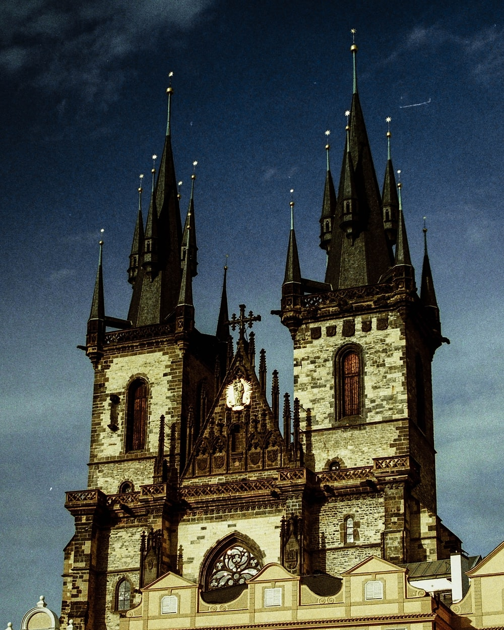 gray and black cathedral
