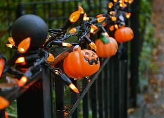 Jack O Lantern string lights