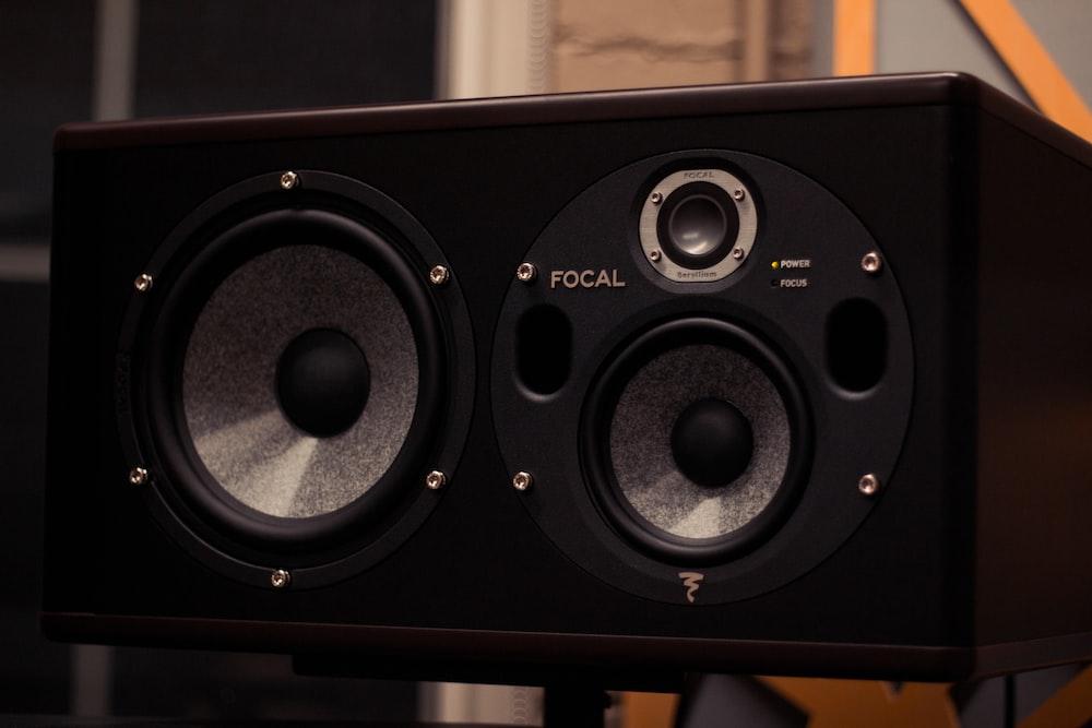 black Focal speaker