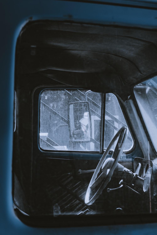empty vehicle driver seat