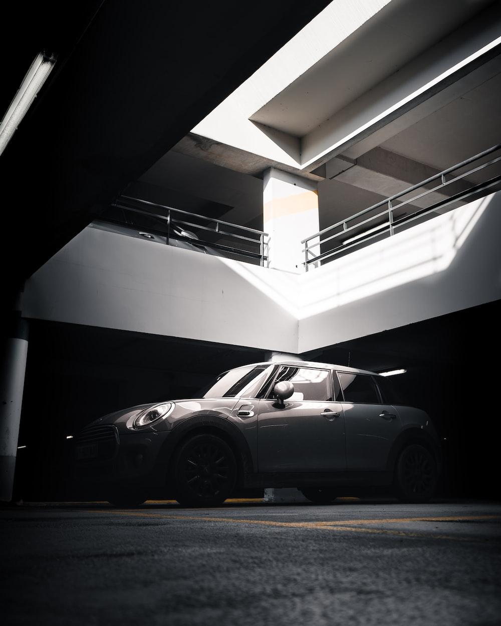 gray 5-door hatchback