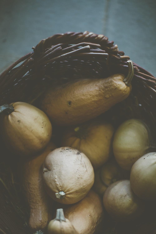 basket of squash